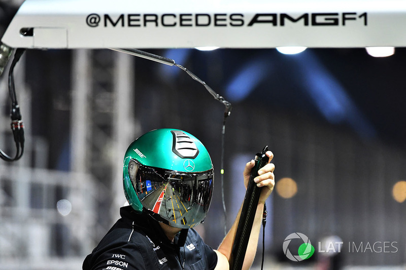 Mercedes AMG F1, Mechaniker