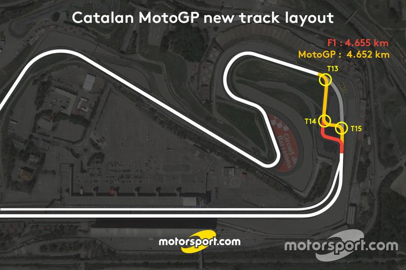 Revisión del trazado para el GP de Cataluña de MotoGP