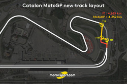 Catalan GP track layout revised