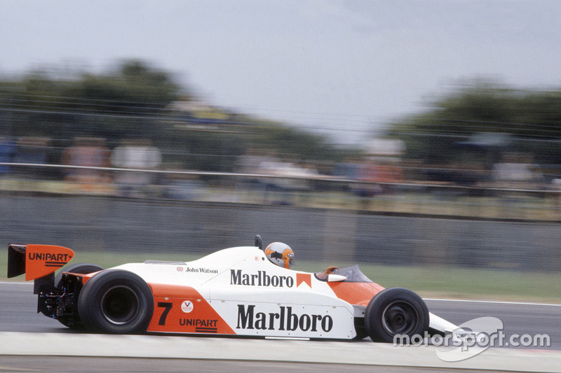 John Watson, McLaren MP4/1 Ford Cosworth