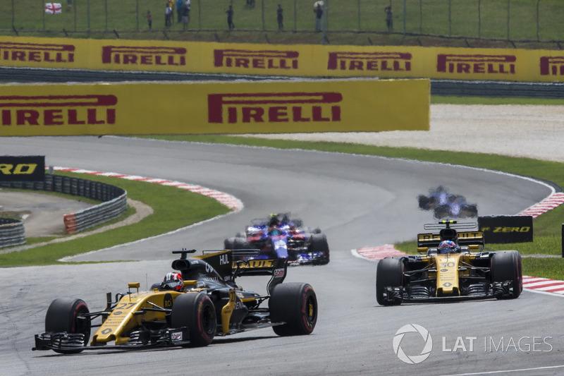 Ніко Хюлькенберг, Джоліон Палмер, Renault Sport F1 Team RS17