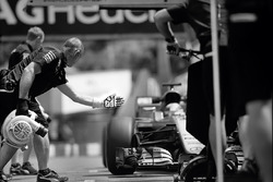 Mercedes AMG F1 team members, Monaco GP, 2016