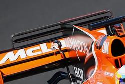 McLaren MCL32, rear wing detail