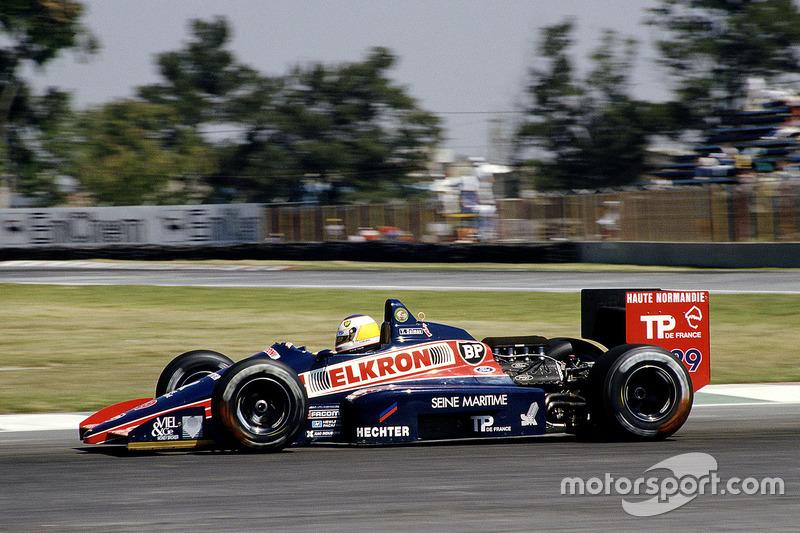 Yannick Dalmas, Larrousse/Lola LC87, Ford