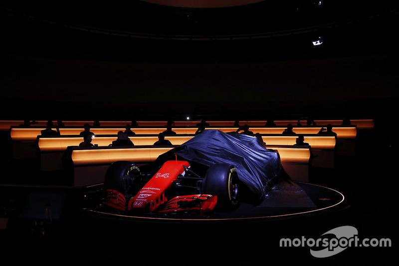 El McLaren MCL32 es descubierto