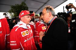 Sergio Marchionne, Ferrari-Präsident, Kimi Raikkonen, Ferrari