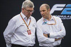 Ross Brawn and Bruno Michel