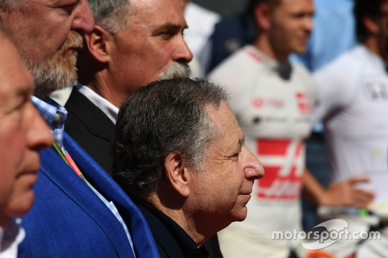 Jean Todt, FIA President and Chase Carey, Chief Executive Officer and Executive Chairman of the Formula One Group