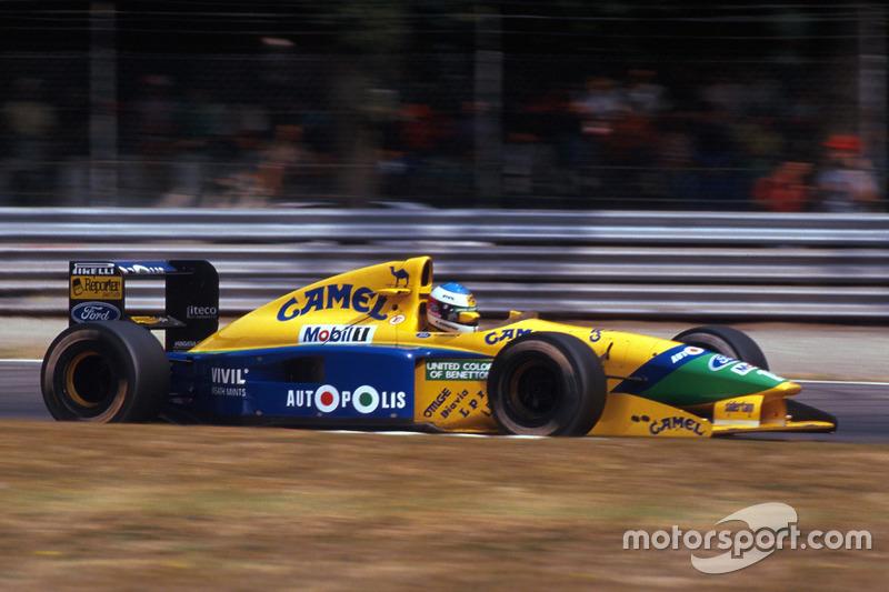 1991: Move to Benetton