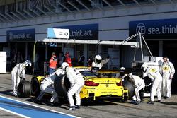 Pit stop, Timo Glock, BMW Team RMG, BMW M4 DTM