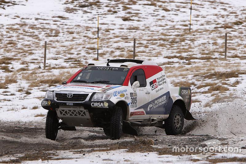 Nani Roma y Alex Haro, Toyota Gazoo Racing