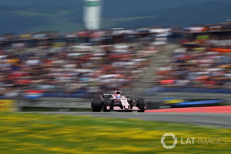 7. Серхио Перес, Sahara Force India F1 VJM10
