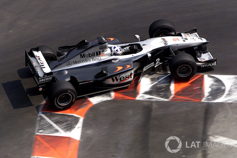 2000: David Coulthard, McLaren MP4/15