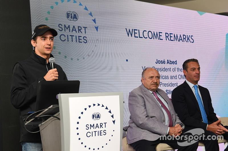 Esteban Gutiérrez, Techeetah, con los medios