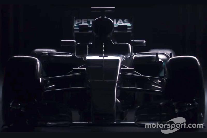 Präsentation, Mercedes W07