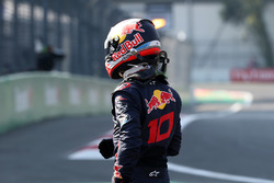 Pierre Gasly, Scuderia Toro Rosso stopped on track in FP3