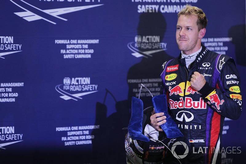 Sebastian Vettel (2010, 2011, 2012 et 2013)
