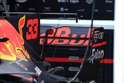Red Bull RB13: Heckflügel