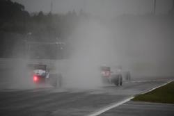 Заезды в сильный дождь