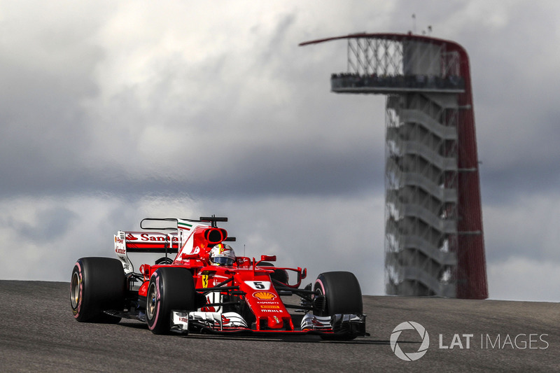 Segundo no campeonato, Sebastian Vettel foi quinto colocado na prova mexicana de 2016.