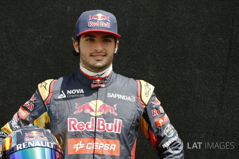 Карлос Сайнс – Scuderia Toro Rosso. 2015 год