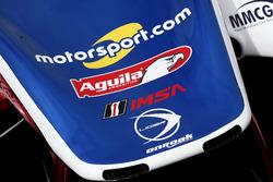 Détail de la #32 United Autosports Ligier LMP2: Will Owen, Hugo de Sadeleer, Paul Di Resta, Bruno Senna