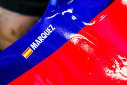 Marc Marquez tests the Toro Rosso F1 car