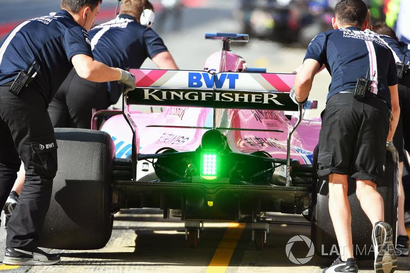 Force India VJM11 rear