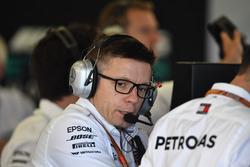 Peter Bonnington, ingénieur de course Mercedes AMG F1