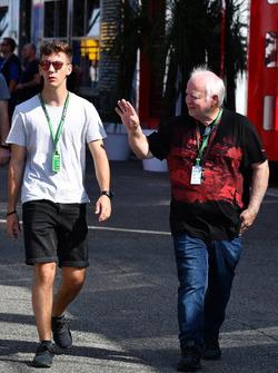 Norbert Vetttel, and Fabian Vettel