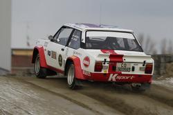 Alberto Battistolli, Fiat 131 Abarth