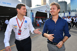 Nico Rosberg in the paddock