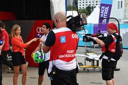 Nicki Shields, Lucas di Grassi, Audi Sport ABT Schaeffler