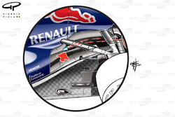 Red Bull RB8 exhaust solution favoured by Vettel