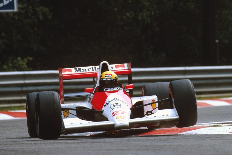 1990 Belçika: McLaren MP4/5B