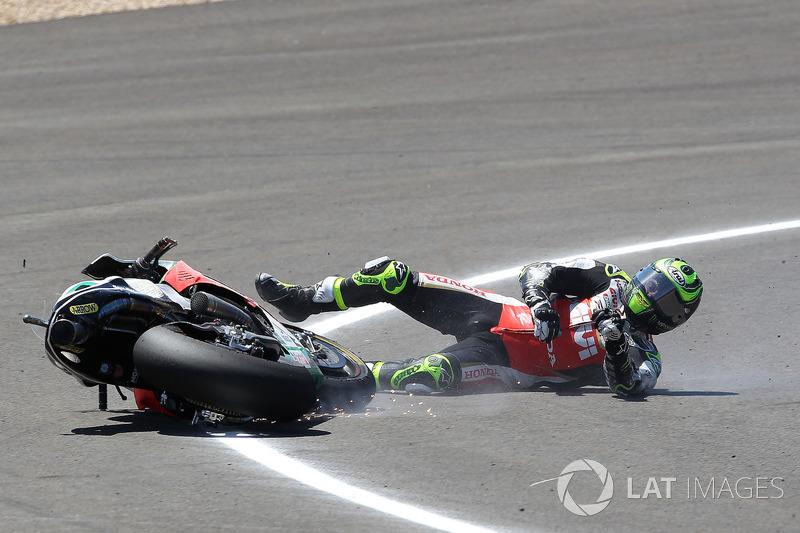 Аварія Кела Кратчлоу, Team LCR Honda