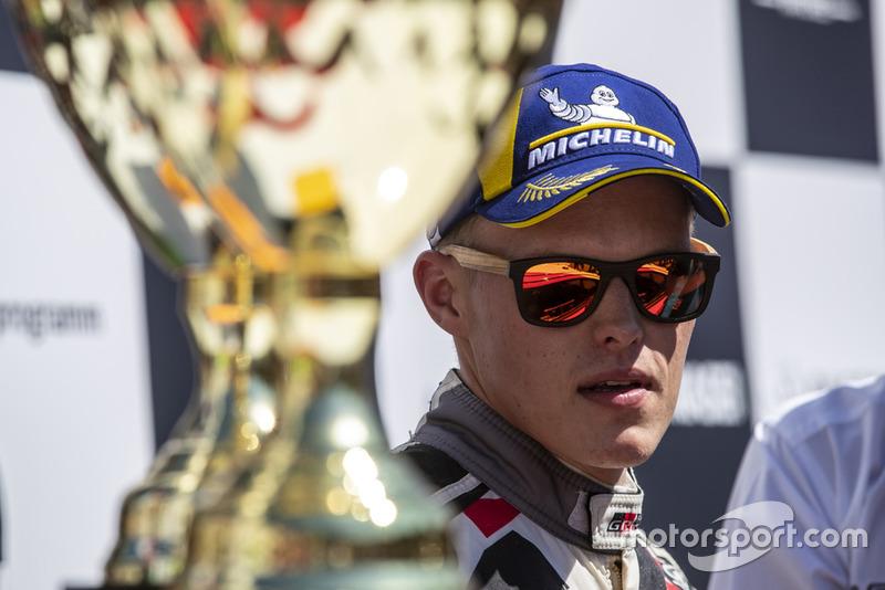 Ganador, Ott Tanak, Toyota Gazoo Racing