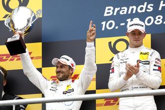 Podio: segundo, Gary Paffett, Mercedes-AMG Team HWA