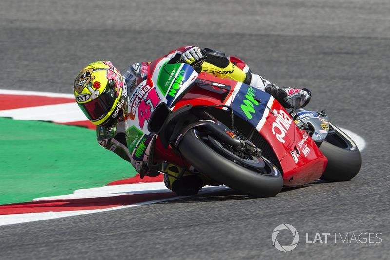 Алеш Эспаргаро. Гран При Сан-Марино