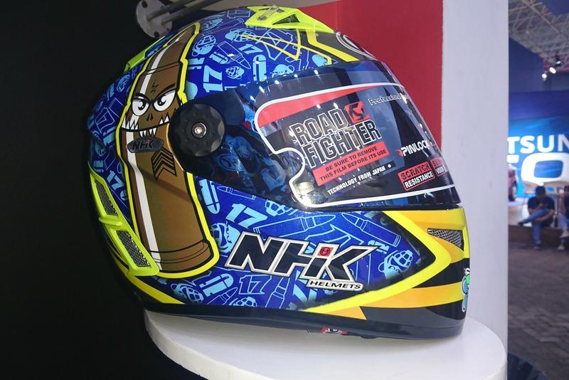 Helm Replika Karel Abraham NHK Terminator TT