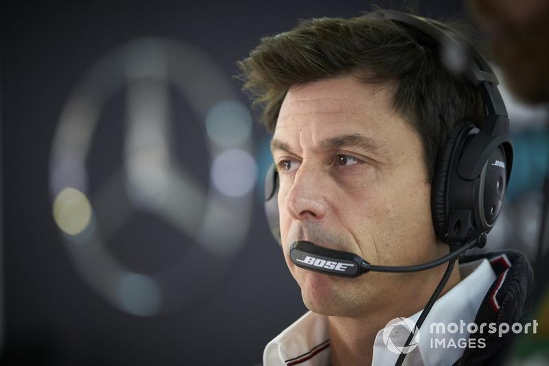 Toto Wolff, directeur exécutif de Mercedes AMG F1
