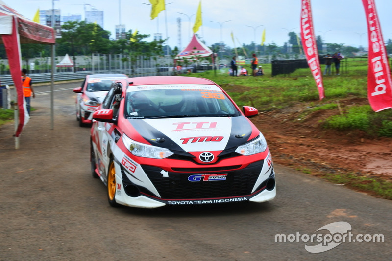 Haridarma Manopo, Toyota Team Indonesia