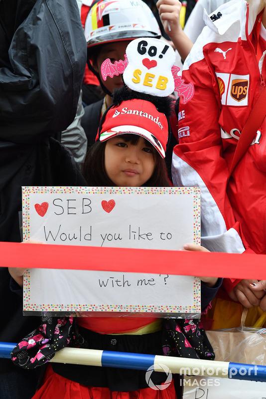 Sebastian Vettel, Ferrari taraftarı