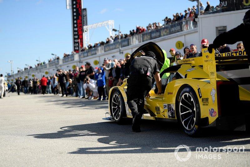 Саймон Труммер, Стивен Симпсон, Крис Миллер, Хуан Пьедрайта, JDC-Miller Motorsports, Cadillac DPi (№84)