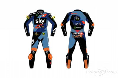 Sky Racing Team VR46 renk düzeni