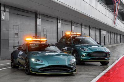 Aston Martin Tıbbi ve Güvenlik Aracı tanıtım