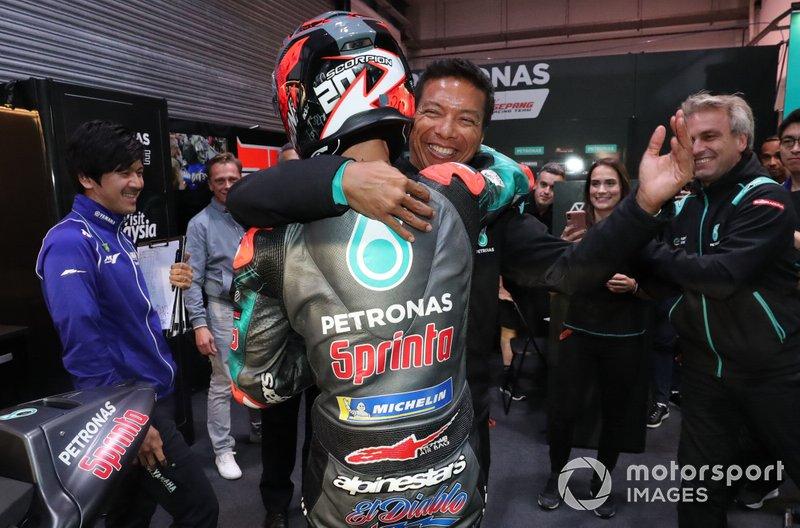 Fabio Quartararo, Petronas Yamaha SRT, mit Razlan Razali