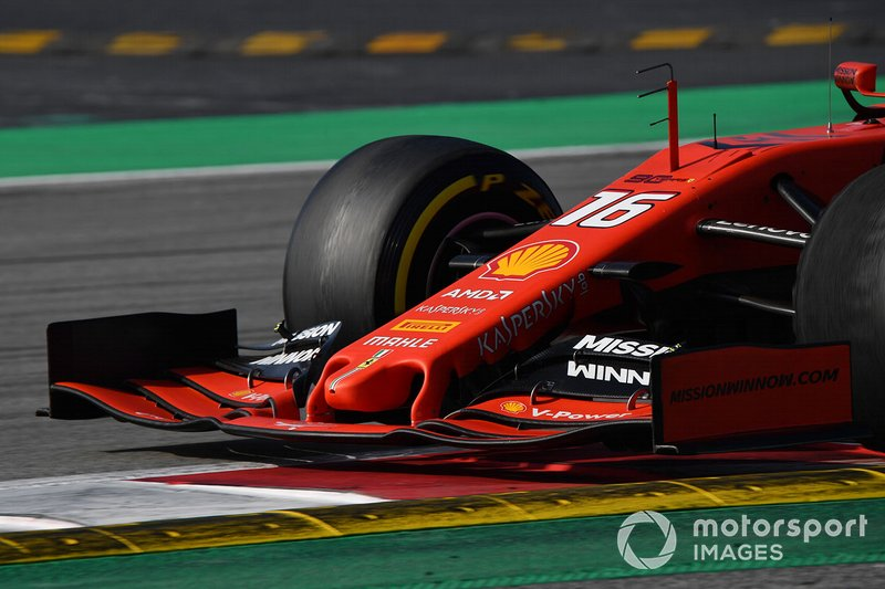 Ferrari SF90 nose and front wing