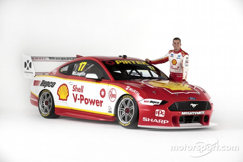 Scott McLaughlin, Shell V-Power Racing Team