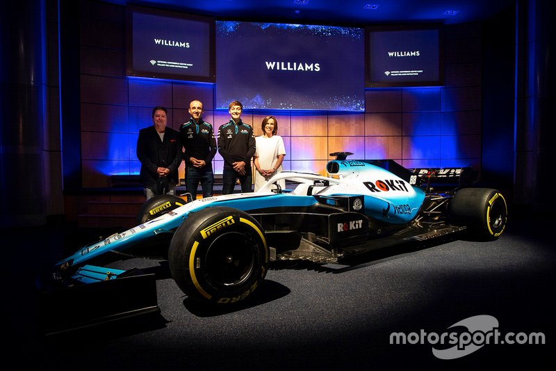 George Russell, Williams, Robert Kubica, Williams, Claire Williams, Vice Team Principal Williams